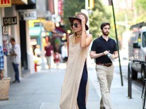 Полу-ню: джинсы с прозрачными платьями. Ярмарка Мастеров - ручная работа, handmade.