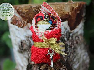 Мастер-класс: обереговая кукла пеленашка для новорожденных и самых маленьких. Ярмарка Мастеров - ручная работа, handmade.
