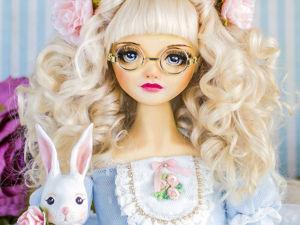 Алиса авторская кукла, интерьерная  кукла подарок любимой девушке женщине. Ярмарка Мастеров - ручная работа, handmade.