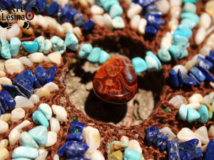 Подбираем камни в ловец снов. Ярмарка Мастеров - ручная работа, handmade.