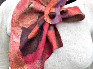 Маленькие шарфики — французские косынки. Ярмарка Мастеров - ручная работа, handmade.