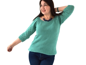 Летний свитер из эко хлопка. Выбирайте модель и цвет!. Ярмарка Мастеров - ручная работа, handmade.