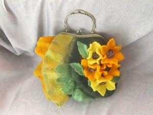Летняя скидка на войлочные сумки. Ярмарка Мастеров - ручная работа, handmade.