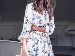 В моде женственность: модные летние платья 2019. Ярмарка Мастеров - ручная работа, handmade.