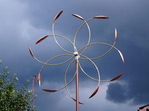 Ветряная кинетическая скульптура  «Star». Ярмарка Мастеров - ручная работа, handmade.