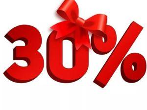 30% скидка на все работы и во втором магазине тоже!!!! До 8 октября. Ярмарка Мастеров - ручная работа, handmade.