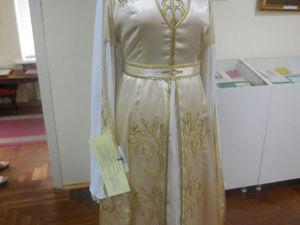 Девушка узоры вышивает... Национальные женские наряды Кабардино-Балкарии. Ярмарка Мастеров - ручная работа, handmade.