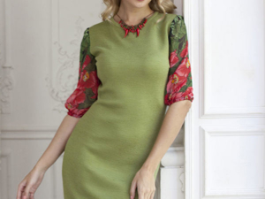 Аукцион на Вязаное платье! Старт 2500 руб.!. Ярмарка Мастеров - ручная работа, handmade.