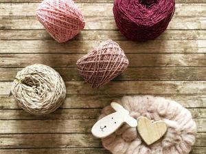 Особенности влажно-тепловой обработки твидовой пряжи. Ярмарка Мастеров - ручная работа, handmade.