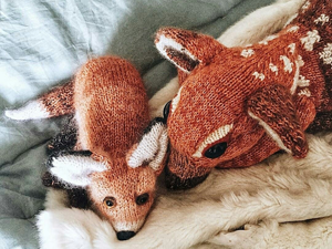 Knitted Animals by Claire Garland, Reminding of Kindness, Coziness. Livemaster - hecho a mano - handmade.