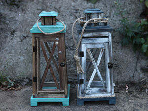 Новые фонари-подсвечники в морском стиле. Ярмарка Мастеров - ручная работа, handmade.