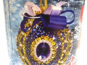 Набор для творчества: шар из пайеток. Ярмарка Мастеров - ручная работа, handmade.