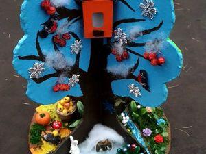 Дерево 4 сезона своими руками. Ярмарка Мастеров - ручная работа, handmade.
