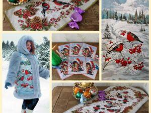 Почему все любят снегирей?. Ярмарка Мастеров - ручная работа, handmade.