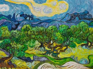 «Где дышит звездами Ван Гог...». Ярмарка Мастеров - ручная работа, handmade.