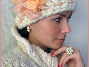 Мастерим необычные цветы для обычной шляпы. Ярмарка Мастеров - ручная работа, handmade.