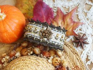 Мастер-класс по созданию браслета «Осенняя улыбка». Ярмарка Мастеров - ручная работа, handmade.