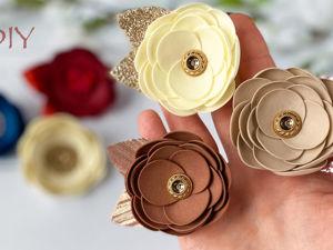 Создаем резиночки с цветами своими руками. Ярмарка Мастеров - ручная работа, handmade.