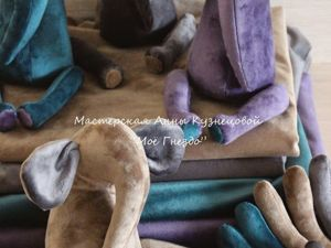 Процесс создания маленьких слонят. Ярмарка Мастеров - ручная работа, handmade.