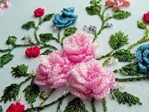 Историческая роскошь и современное вдохновение вышивки рококо. Ярмарка Мастеров - ручная работа, handmade.