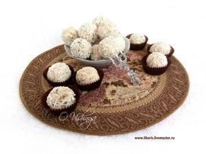Рецепт к Пасхе! Полезные и фантастически вкусные конфеты из творога!. Ярмарка Мастеров - ручная работа, handmade.