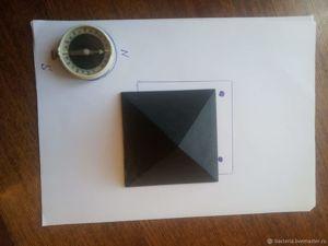 Омоложение с помощью шунгитовых пирамид. Ярмарка Мастеров - ручная работа, handmade.