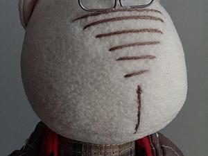 Делаем очки для куклы за 10 минут. Ярмарка Мастеров - ручная работа, handmade.