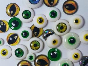 Видео мастер-класс: 10 способов сделать глаза для игрушек. Ярмарка Мастеров - ручная работа, handmade.