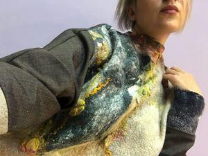 Новое направление. Новая совместная работа.Тандем с Надеждой Элпис. Войлок и ткань. Ярмарка Мастеров - ручная работа, handmade.