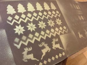 Спрей для декора — тест на куске кожи. Ярмарка Мастеров - ручная работа, handmade.