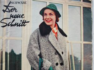 Der Neuer Schnitt — старый немецкий журнал мод -10/1955. Ярмарка Мастеров - ручная работа, handmade.