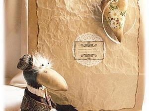 """Упаковка в стиле """"hand made"""" ч.2. Ярмарка Мастеров - ручная работа, handmade."""
