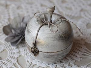 Делаем шкатулочку «Яблочное саше» в винтажном стиле. Ярмарка Мастеров - ручная работа, handmade.