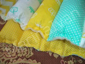 Шьем бортики-подушки для детской кроватки. Часть 1. Ярмарка Мастеров - ручная работа, handmade.