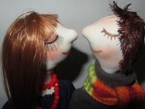 Как сделать мужскую прическу текстильной кукле. Ярмарка Мастеров - ручная работа, handmade.