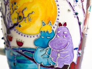 Декорируем кружки в технике витражной росписи. Ярмарка Мастеров - ручная работа, handmade.