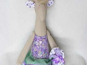 Мастер-класс: создаем жирафу Виолу. Ярмарка Мастеров - ручная работа, handmade.