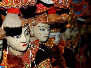 Мистические куклы-марионетки из Мьянмы. Ярмарка Мастеров - ручная работа, handmade.