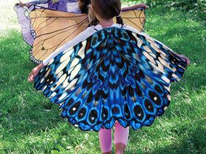 Шьем крылья бабочки для карнавального костюма. Ярмарка Мастеров - ручная работа, handmade.