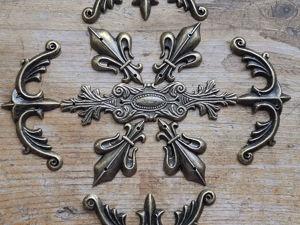 Крупный декор — узоры из нашей фурнитуры. Ярмарка Мастеров - ручная работа, handmade.