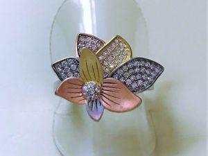 Видеоролик серебряного кольца  «Эдельвейс». Ярмарка Мастеров - ручная работа, handmade.