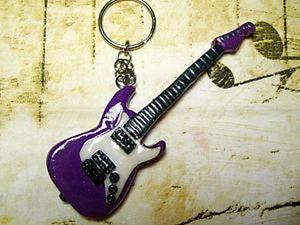 Лепим электрогитару Fender Stratocaster из полимерной глины. Ярмарка Мастеров - ручная работа, handmade.