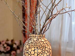 Декорирование вазы своими руками/ Мастер-класс. Ярмарка Мастеров - ручная работа, handmade.