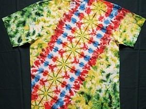 """Роспись футболки """"Диагональ"""" Урок № 5.. Ярмарка Мастеров - ручная работа, handmade."""