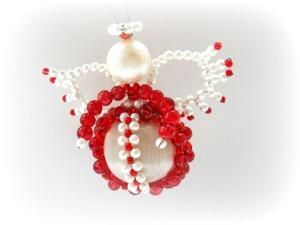 Плетем пасхального ангела из бусин. Ярмарка Мастеров - ручная работа, handmade.