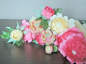 Создаем пионовидные цветы и бутоны для букета из конфет. Ярмарка Мастеров - ручная работа, handmade.