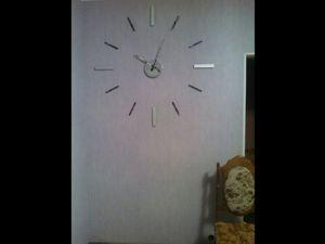Видеоурок: создаем огромные интерьерные настенные часы. Ярмарка Мастеров - ручная работа, handmade.