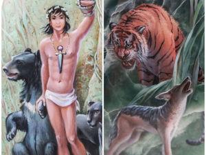 Аукцион: Маугли и Шерхан. Ярмарка Мастеров - ручная работа, handmade.