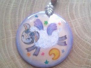 Быстрая роспись по дереву: рисуем смешную овечку. Ярмарка Мастеров - ручная работа, handmade.