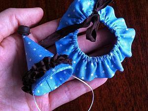 Шьём колпачок и воротник для мишки тедди или куклы.. Ярмарка Мастеров - ручная работа, handmade.